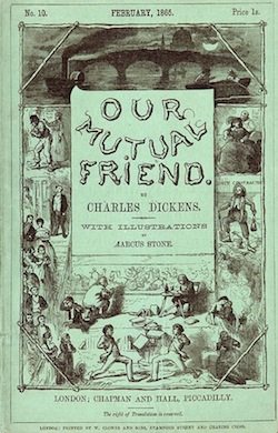 Cover of Dickens's Our Mutual Friend